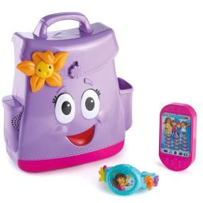 Fisher-Price Dora i przyjaciele - Mówiący plecak i magiczna bransoletka FNN01