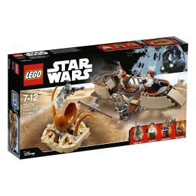 LEGO Star Wars - Ucieczka na pustynnej barce 75174
