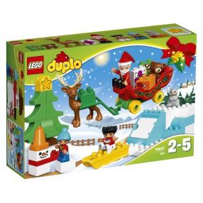 LEGO Duplo - Zimowe ferie Świętego Mikołaja 10837