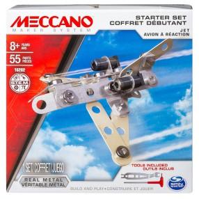 Meccano Klocki konstrukcyjne - Zestaw dla początkujących Samolot 16202