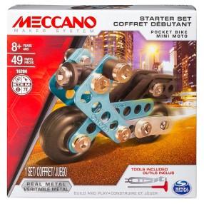 Meccano Klocki konstrukcyjne - Zestaw dla początkujących Motor 16204
