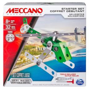 Meccano Klocki konstrukcyjne - Zestaw dla początkujących Helikopter 16203