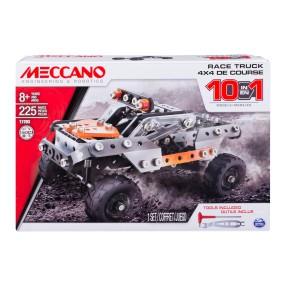 Meccano Klocki konstrukcyjne - Samochód terenowy Auto 4x4 10 w 1 17203