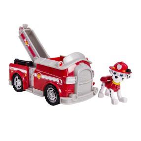 Psi Patrol - Pojazd z figurką Marshall i wóz strażacki 20084880