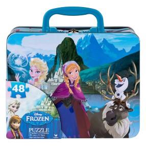 Spin Master - Puzzle Frozen w kuferku 48 elem. 20080377