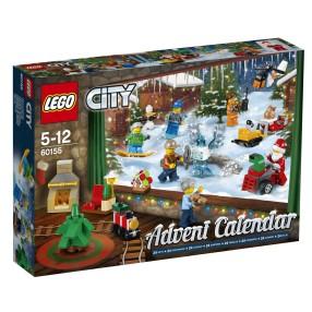 LEGO CITY - Kalendarz adwentowy 60155