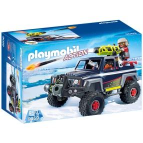 Playmobil - Pojazd terenowy z piratem polarnym 9059