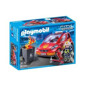 Playmobil - Samochód strażacki 9235