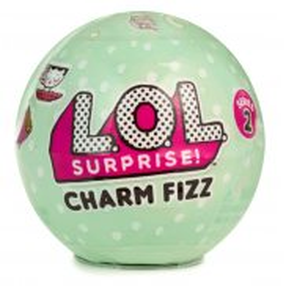 L.O.L. SURPRISE - Charm Fizz Musujące kule z niespodzianką Seria 2 548478