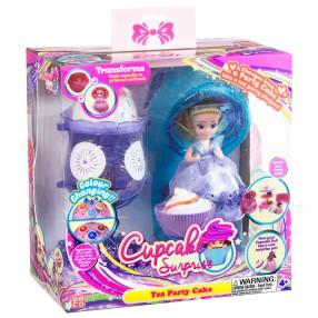 TM Toys - Cupcake Surprise Zestaw deser lodowy - salon piękności 2w1 Fioletowy 1140