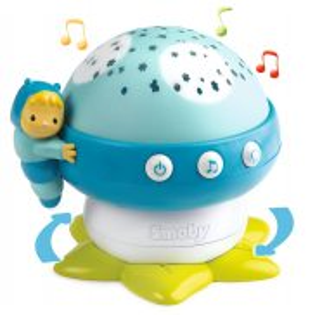 Smoby Cotoons - Projektor grzybek z dźwiekiem niebieski 110109