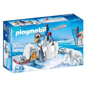 Playmobil - Strażnicy polarni z niedźwiedziami polarnymi 9056