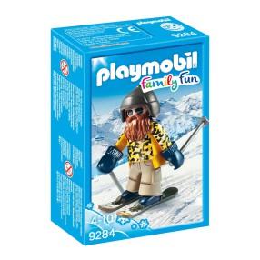 Playmobil - Narciarz na nartach snowblade 9284