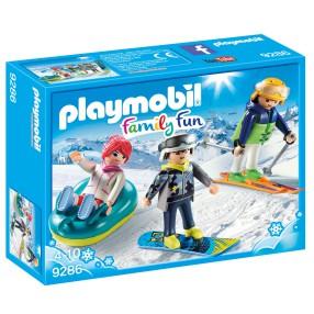 Playmobil - Sportowcy zimowi 9286