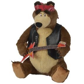 Simba Masza i Niedźwiedź - Maskotka Rockowy Misza z dźwiękiem 9308193