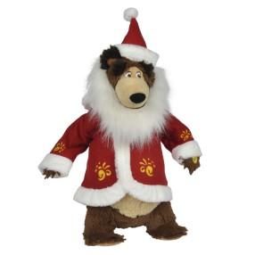 Simba Masza i Niedźwiedź - Maskotka Świąteczny Misza z dźwiękiem 9301011