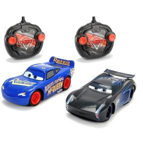 Dickie RC Auta 3 - 2-pak Samochód Turbo Racer Fabulous McQueen i Jackson Sztorm 3087009