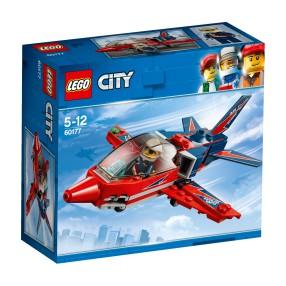 LEGO CITY - Odrzutowiec pokazowy 60177