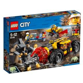 LEGO CITY - Ciężkie wiertło górnicze 60186