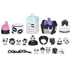 Littlest Pet Shop - Black & White Zestaw 13 Zwierzaków C2896