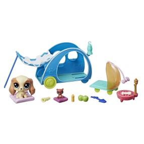 Littlest Pet Shop - Zwierzakowe miejsca Cozy Camper E2103