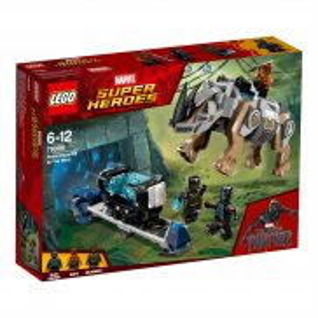 LEGO Super Heroes - Pojedynek z nosorożcem w pobliżu kopalni 76099