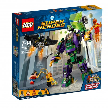 LEGO Super Heroes - Lex Luthor Mech Takedown 76097