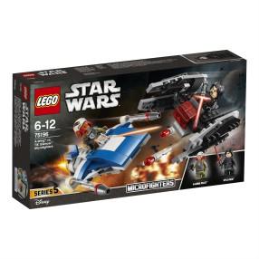 LEGO Star Wars - A-Wing kontra TIE Silencer 75196