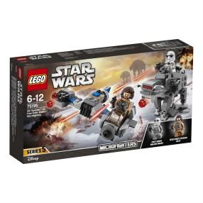LEGO Star Wars - Ski Speeder kontra Maszyna krocząca Najwyższego Porządku 75195