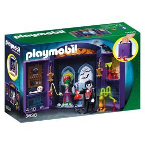 """Playmobil - Play Box """"Zamek potworów"""" 5638"""