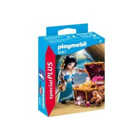 Playmobil - Piratka ze skrzynią skarbów 9087