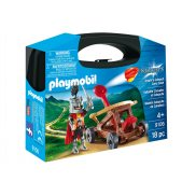 Playmobil - Skrzyneczka Rycerz z katapultą 9106