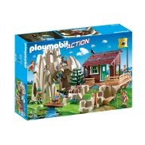 Playmobil - Skała do wspinaczki z chatą górską 9126