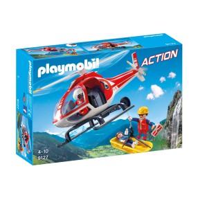 Playmobil - Helikopter ratownictwa górskiego 9127