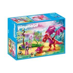 Playmobil - Smocza mama ze smoczątkiem 9134