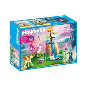 Playmobil - Świeciący kwiat dzieci wróżek 9135