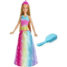 Barbie - Lalka Magiczne Włosy Księżniczki - Światła i dźwięki FRB12