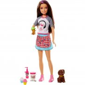 Barbie - Lalka Siostra Skipper i zwierzątko FHP62