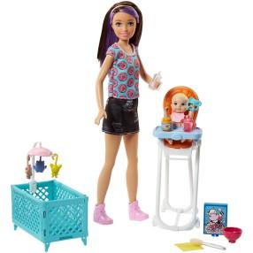Barbie - Lalka Skipper Opiekunka i bobas FHY98