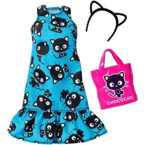 Barbie - Ubranka z ulubieńcami Hello Kitty dla lalki FKR71