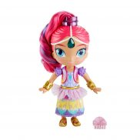 Fisher-Price - Shimmer i Shine Tęczowa lalka z dźwiekiem 2w1 FVM96