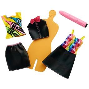 Barbie Crayola - Zrób to sama: Akwarelowe wzory FHW86
