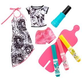 Barbie Crayola - Zrób to sama: Stylowe szablony FPW13