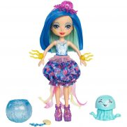 EnchanTimals - Morska lalka Jessa Jellyfish i Marisa FKV57