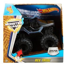 Hot Wheels Monster Jam - Rev Tredz Soldier Fortune Black Ops FMB43