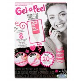 Gel-a-Peel - Zestaw Podstawowy Magiczny żel Tuba Neonowy Róż 550099