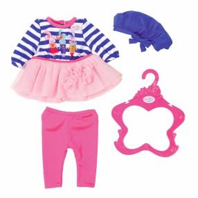 BABY born - Kolekcja ubranek dla lalki w paski 824528 B