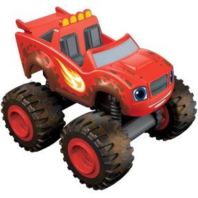 Fisher-Price Blaze - Metalowe pojazdy Mud Racin Blaze CJJ47