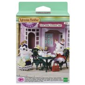 Sylvanian Families Town - Zestaw do herbaty ze smakołykami 6012