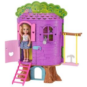 Barbie - Chelsea Domek na drzewie + lalka FPF83